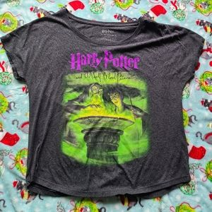 Out of Print Harry Potter Scoop Neck Shirt
